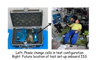 Project Image   Phase Change cell demonstration onboard the International Space Station in support of the CLARREO Mission