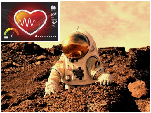 The miniature biosensor will provide valuable biometric feedback to astronauts working on Mars.