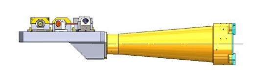 Compact variable rate laser for space application
