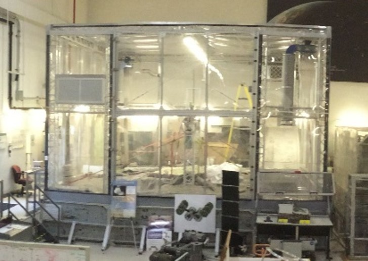 GMRO Lab Regolith Test Bin at KSC