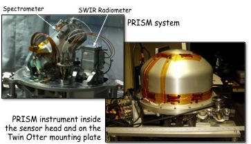 Project Image   Portable Remote Imaging Spectrometer (PRISM)