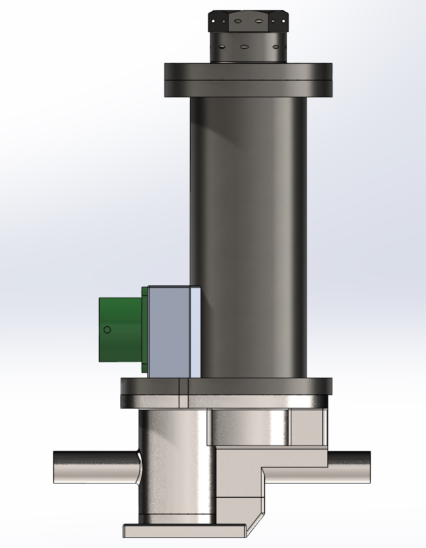 CAD Model of AM-produced Valve