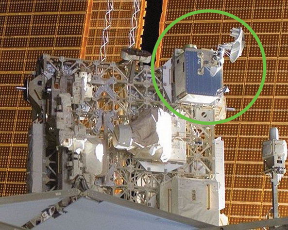 SCaN Testbed installed to the ISS ExPRESS Logistics Carrier-3