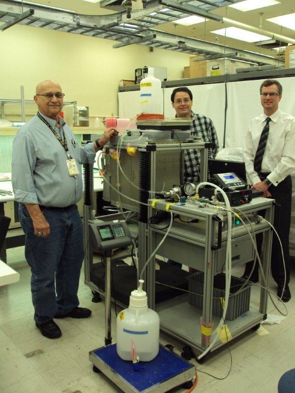Project Image   Microgravity Multi-Phase Flow Experiment for Suborbital Testing (MFEST)