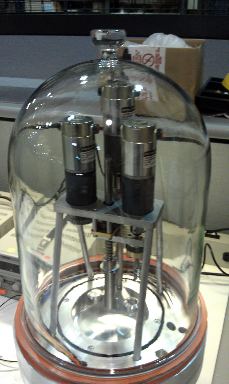 Project Image   In-Situ Water Vapor Probe for a Robot Arm-Mounted, Compact Water Vapor Analyzer