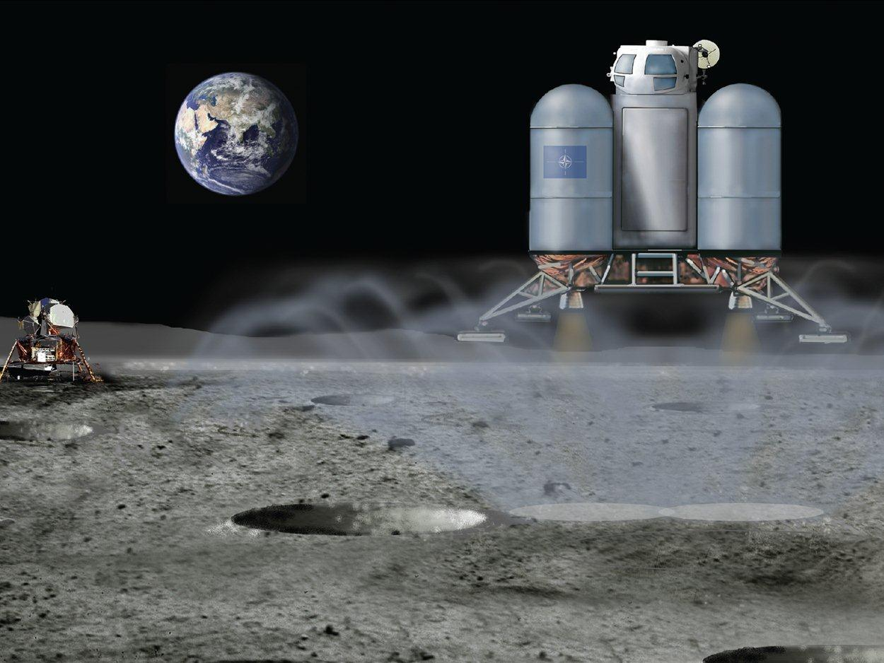 Plume Mitigation: Soil Erosion and Lunar Prospecting Sensor