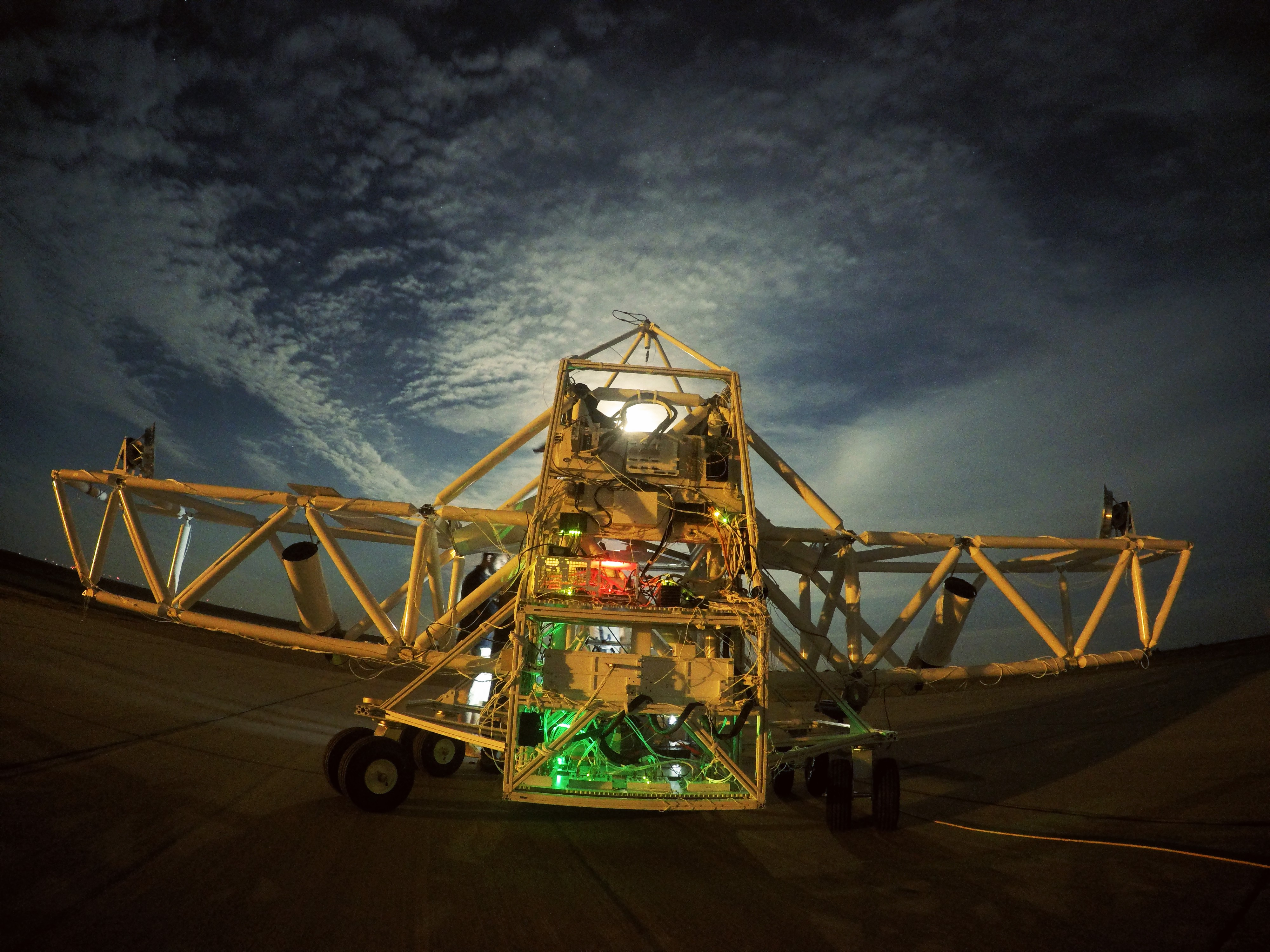 BETTII in Fort Sumner during night testing