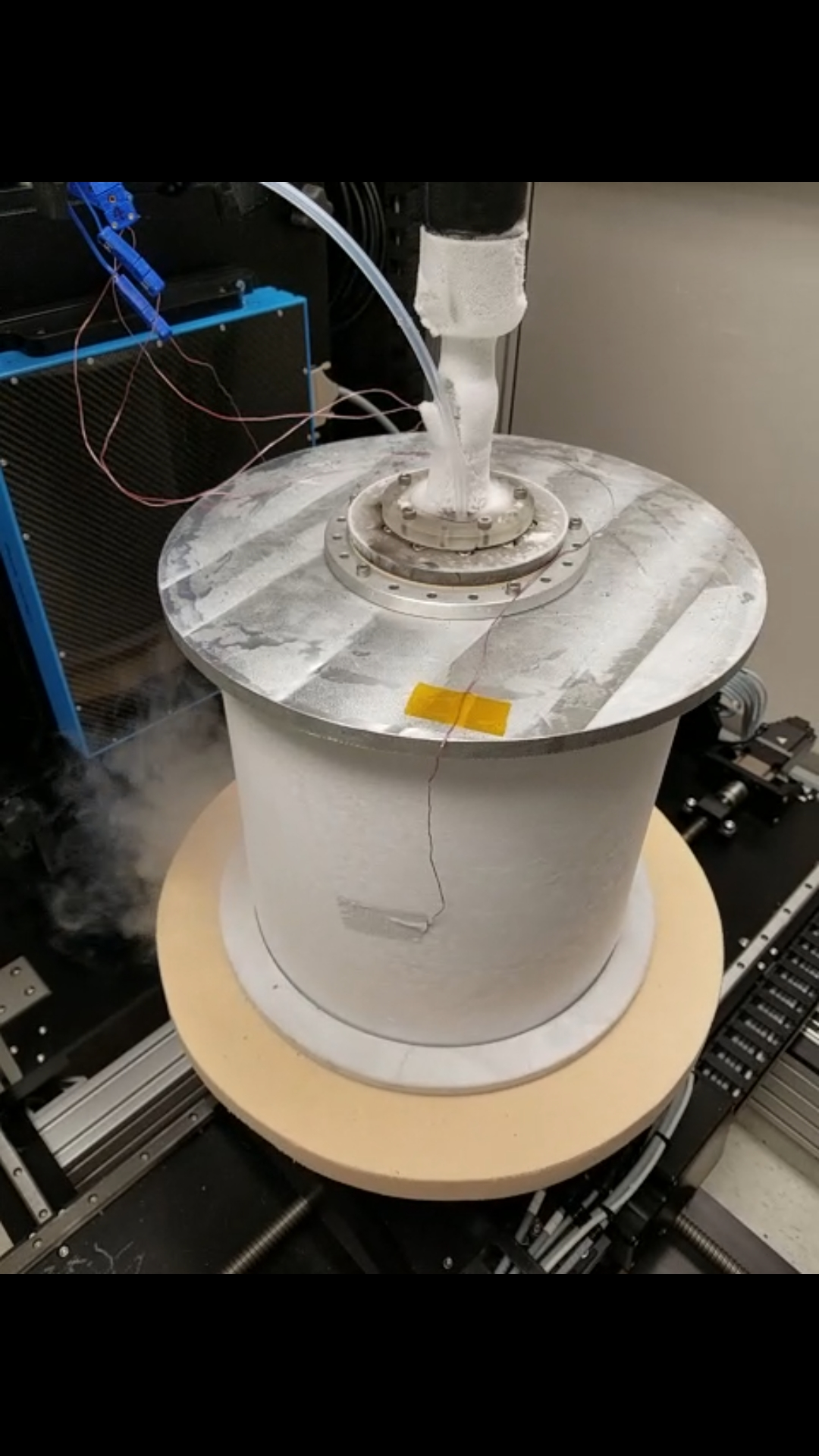 First functional prototype CryoCT chamber at GSFC