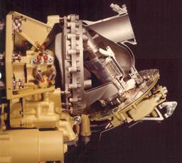 A Cutaway of the APU Used on the Shuttle Orbiter