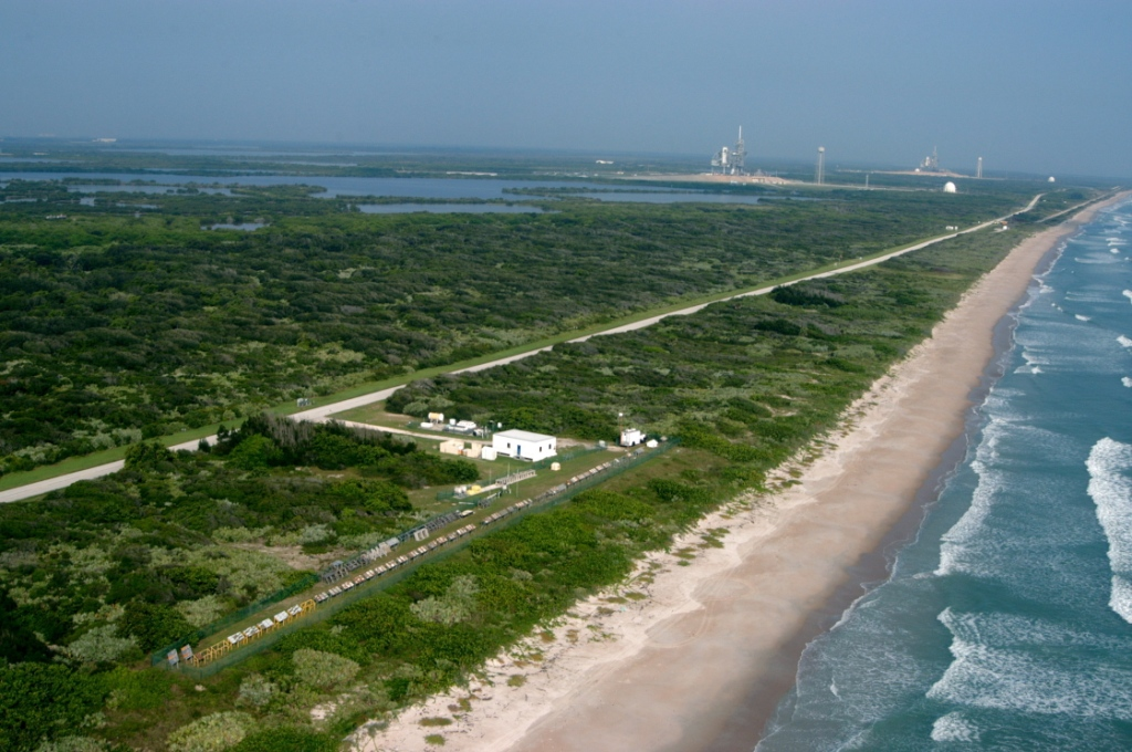 Beachside Atmospheric Exposure Test Site at NASA's Kennedy Space Center
