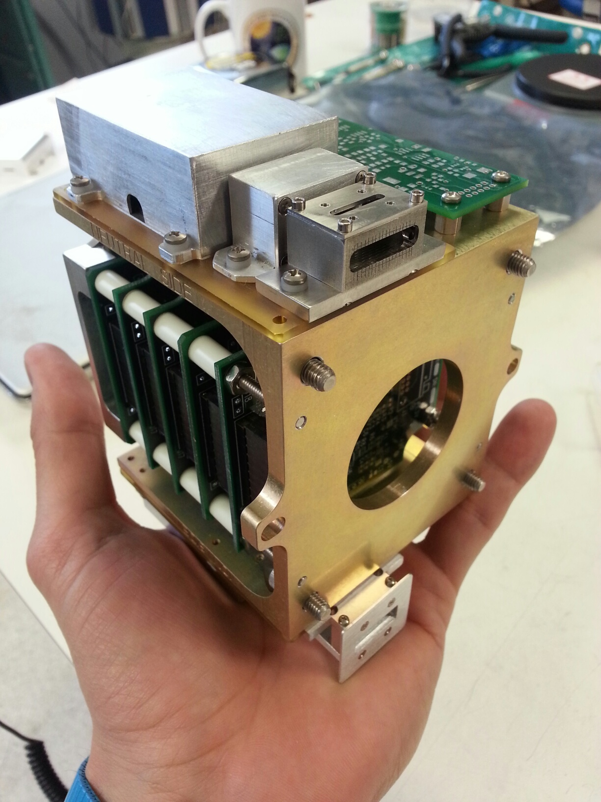 Ion Neutral Mass Spectrometer to fly on ExoCube