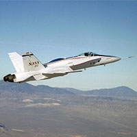 NASA Flight Test Research Project - one of the applications of the inverse finite element method (iFEM) analysis