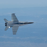 Distributed Aerostructural Sensing and Control F18 Flight Test